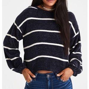 AE Chenille Balloon Sleeved Sweater